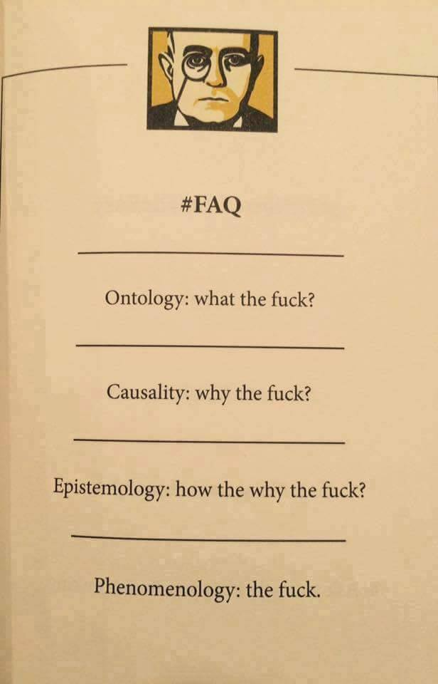 Philosophy of Science in a nutshell.   (c) @NeinQuarterly