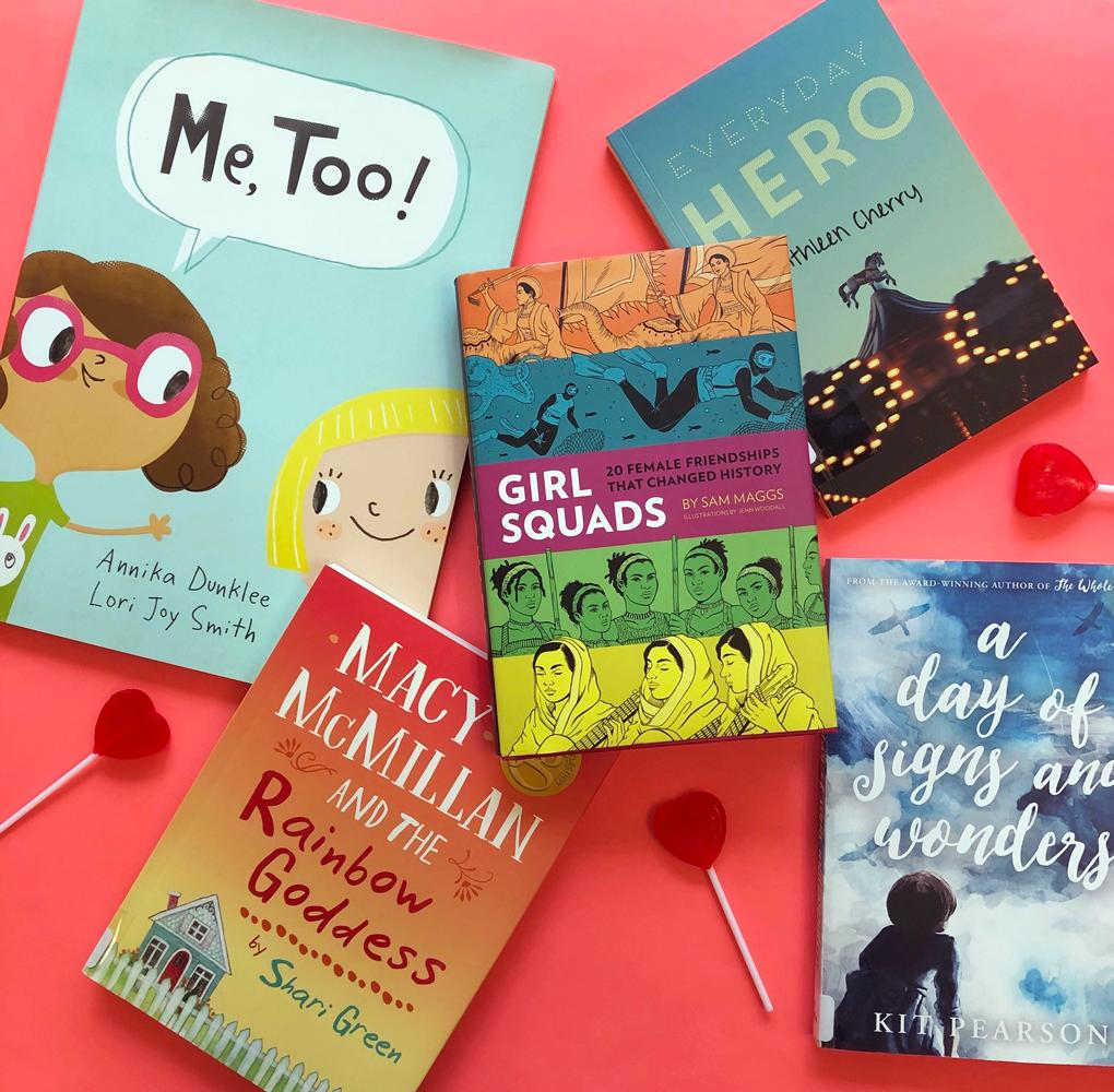 Today is #Galentine'sDay, and we're celebrating female friendships! Who are your favourite literary BFFs?   #kidlit #yabooks #canlit #booklove #bookstagram https://t.co/9GGRZ9XSqJ