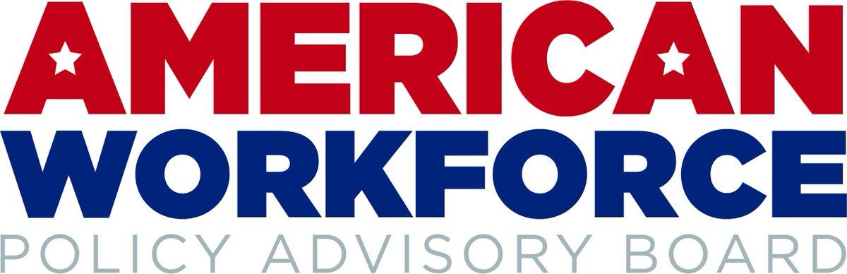 American Workforce Policy Advisory Board logo.