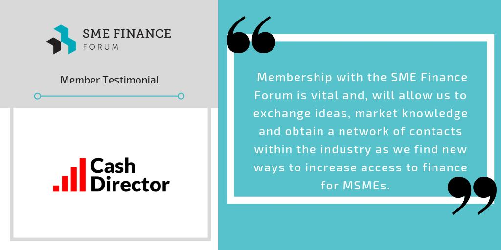 .@CashDirectorSA: Membership with the @SMEFinanceForum is vital and, will allow us to exchange ideas, market knowledge and obtain a network of contacts within the industry as we find new ways to increase access to finance for MSMEs. #SMEFinance  https://t.co/eBkgC29So2