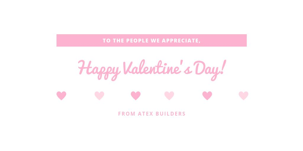 Happy Valentine's day from Atex to you! #Valentine'sDay #Valentine #AtexBuilders #project #HomeImprovement https://t.co/HtnlYmxloi