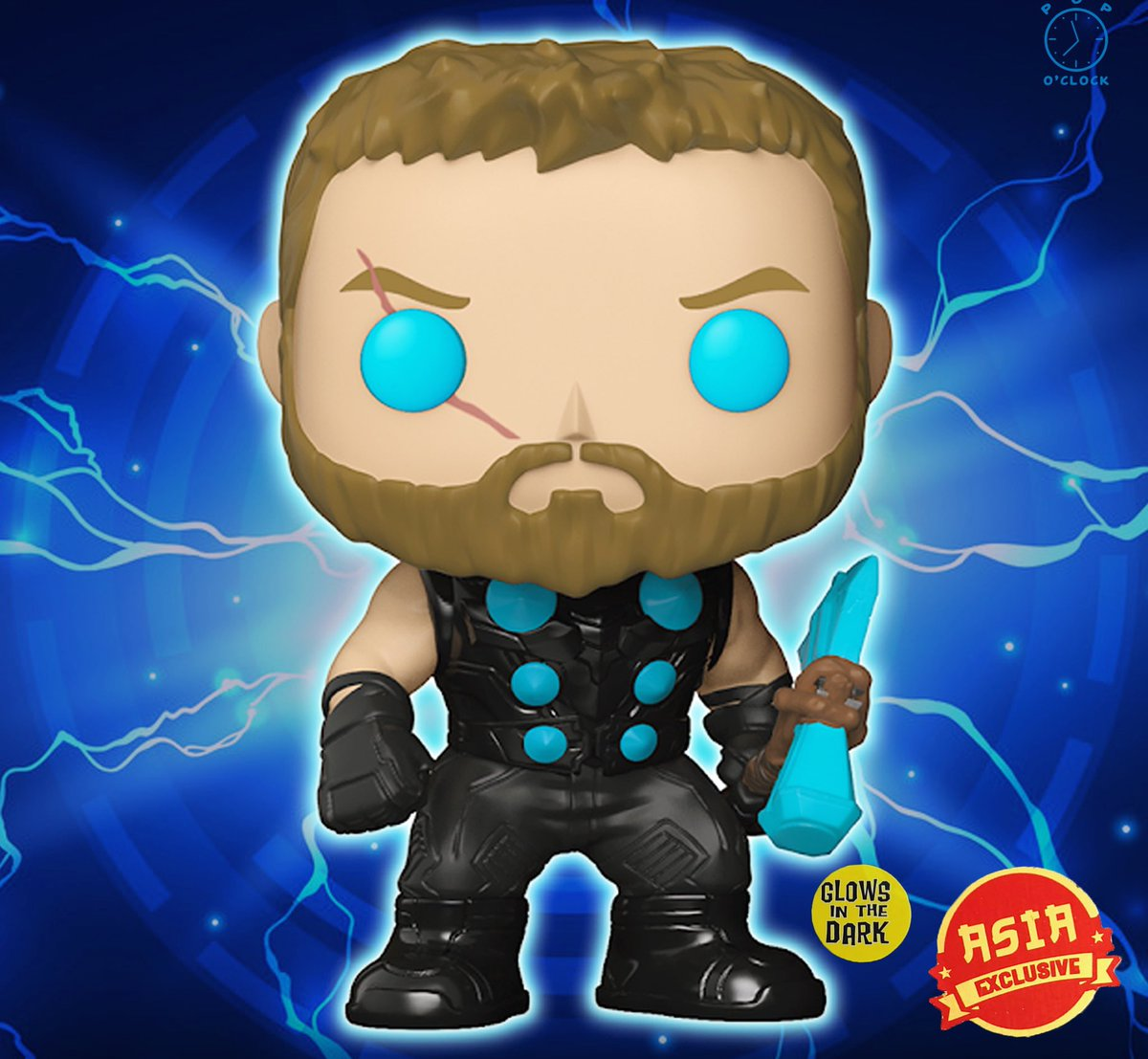 🎁 🔥 GIVEAWAY 🔥 🎁  One lucky follower will win a Thor Asia  Exclusive Glow In The Dark Pop!  Rules: - RT & Follow @pop_o_cIock  - Follow us on Instagram: http://instagram.com/pop_o_clock/  Winner will be selected via Instagram on 2/28. ⏱👀 Good luck!