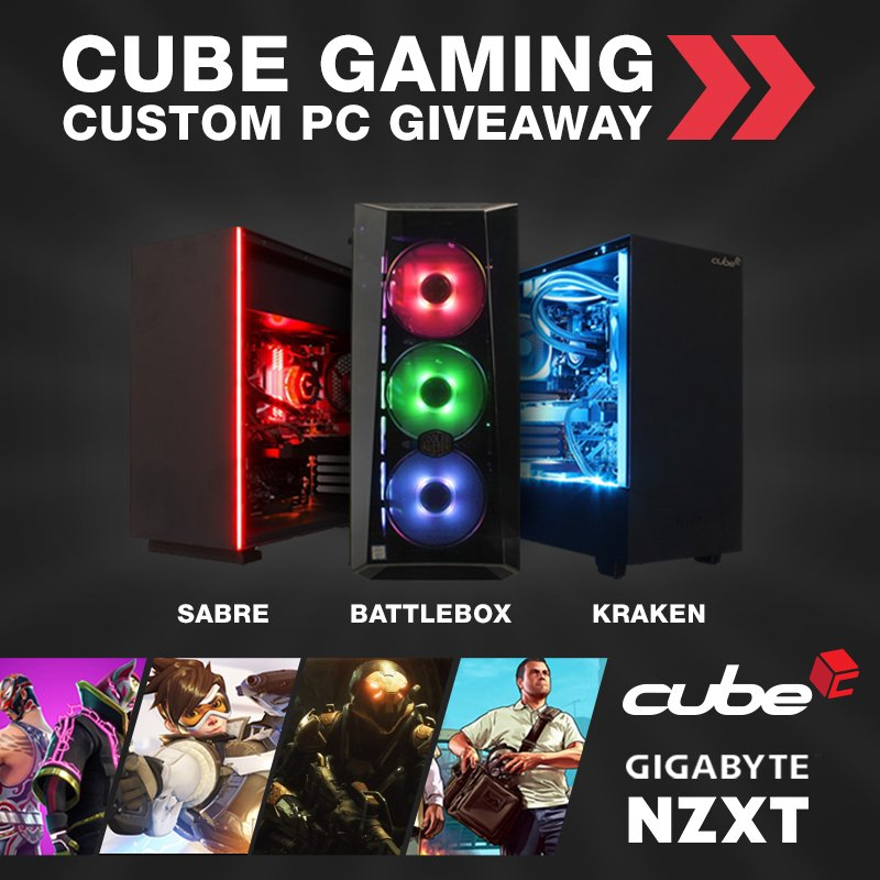 Heres a SPICY giveaway for you guys! How would you like to be in with a chance to win a CUSTOM BUILT GAMING PC courtesy of the guys at @boxcouk? Click the link and follow the instructions to enter (UK only): gleam.io/4aVrC/cube-gam…