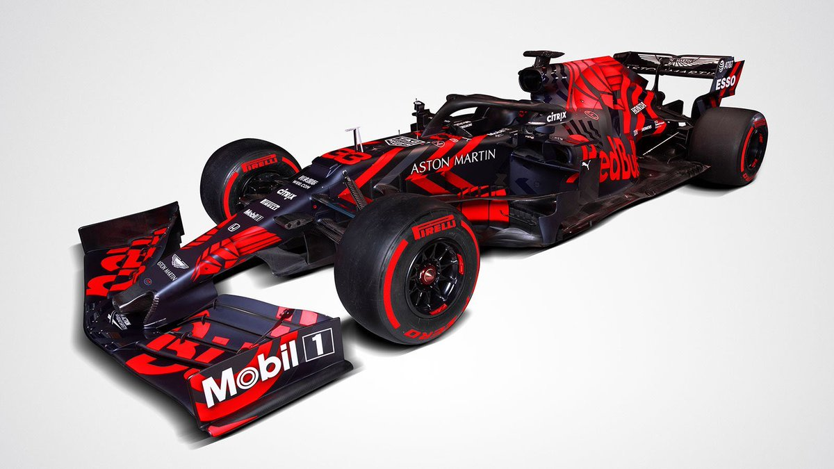 Welcome to RB15 and Aston Martin Red Bull Racing F1 challenger for 2019 @astonmartin @redbullracing