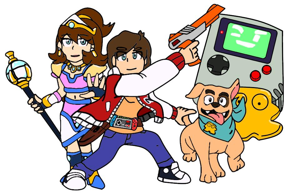 20xx On Twitter Ready For 30 Years Of Captain N The Game Master Of Nes Era For Captainn30thanniversarycollab Characters Kevin Keene Princess Lana Duke Game Boy Diskun Characters Redesign For Nintendo