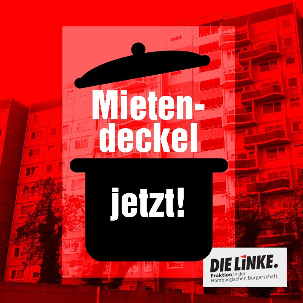 """Einen möglichen #Mietendeckel für #Hamburg haben wir heute in der #hhbue gleich zwei Mal auf die Tagesordnung gesetzt. """"Alle Möglichkeiten zum Schutz der Mieterinnen und Mieter müssen genutzt werden"""", meint unsere Abgeordnete @HeikeSudmann. Unser Antrag: http://bit.ly/2UWtkbA"""