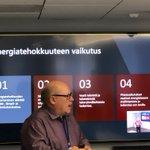 Image for the Tweet beginning: Tänään ohjelmassa energiatehokkuuskoulutusta koko henkilöstölle.