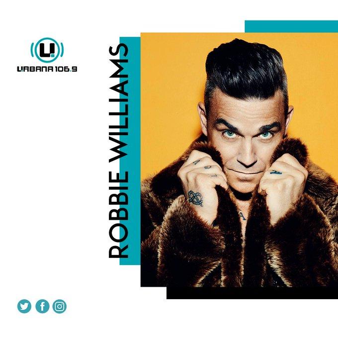 El cantante británico, Robbie Williams, cumple 45 años el día de hoy Happy Birthday, Robbie!