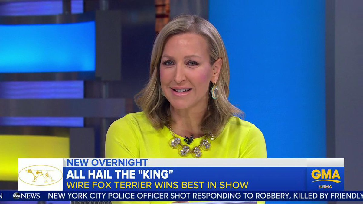 Good Morning America's photo on #WestminsterDogShow