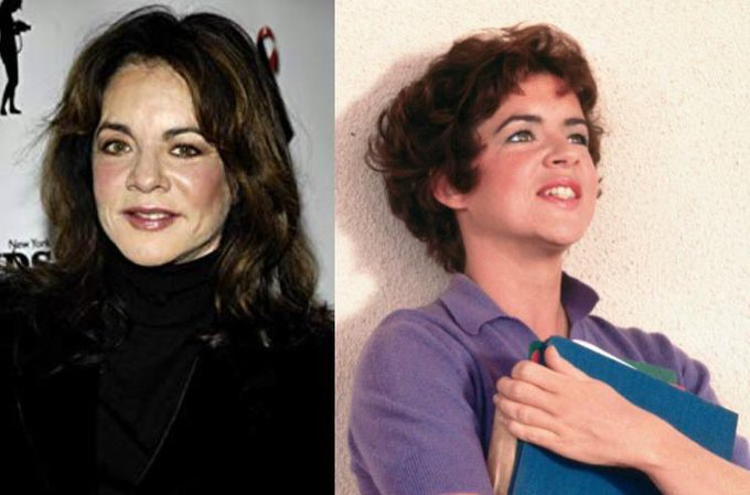 Happy 75th Birthday to Stockard Channing! The actress who played Rizzo in Grease.