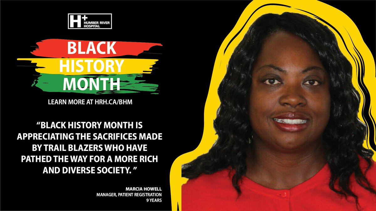 """Black History Month is appreciating the sacrifices made by trail blazers who have pathed the way for a more rich and diverse society."" - Marcia Howell  Learn more about #BHM at #HRH: http://ow.ly/Kgye50lavaS   #BlackHistoryMonth #DreamsBroughtToLife"