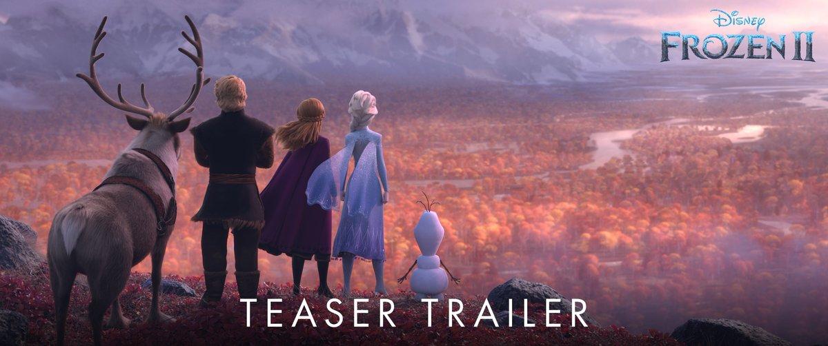 November 2019. #Frozen2