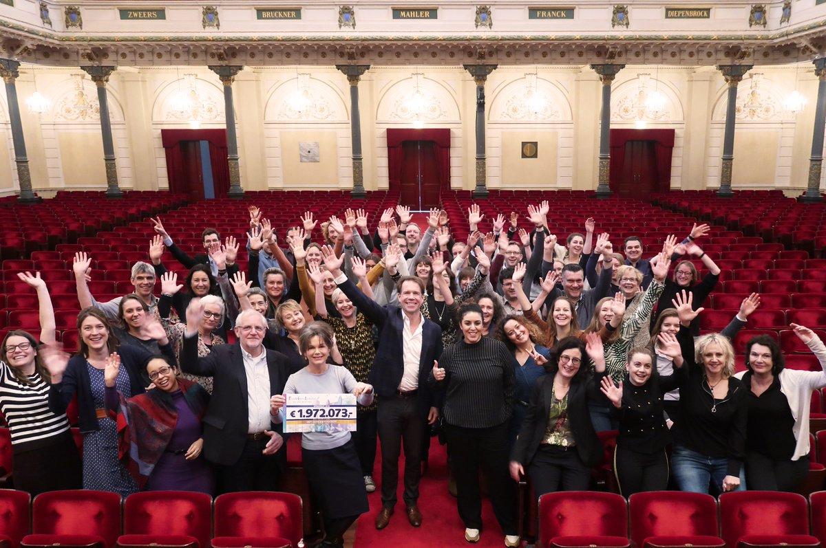 Het Concertgebouw's photo on #GoedGeldGala