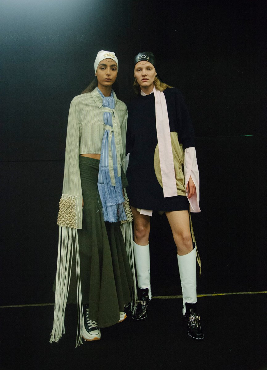 London Fashion Week On Twitter Backstage Highlights From Jw Anderson S Ss19 Lfw Show Returning To The Official Schedule For February 2019 See The Full List Of Designers Showcasing This Season At Https T Co Mfaet6u5r9 Https T Co 7q15rtaxsp