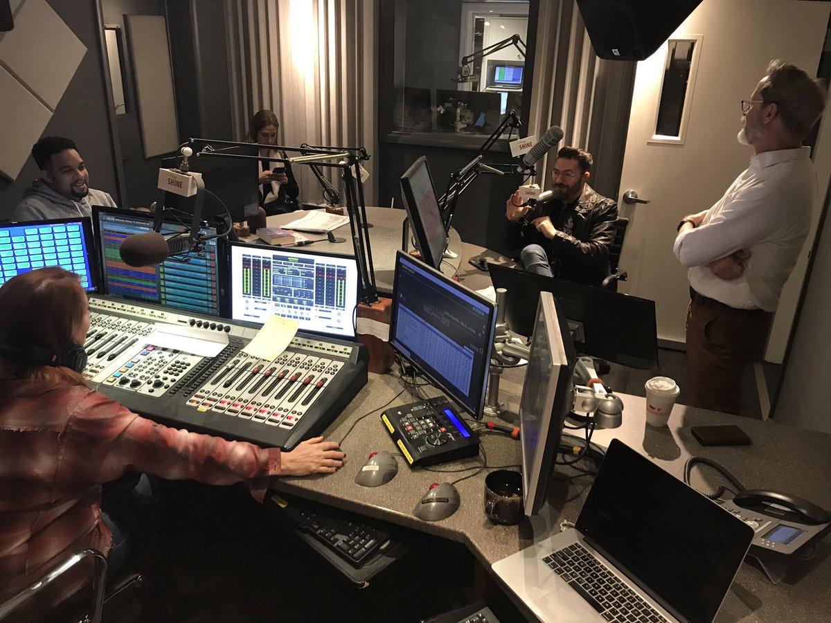 Danny Gokey at 95.1 Shine FM