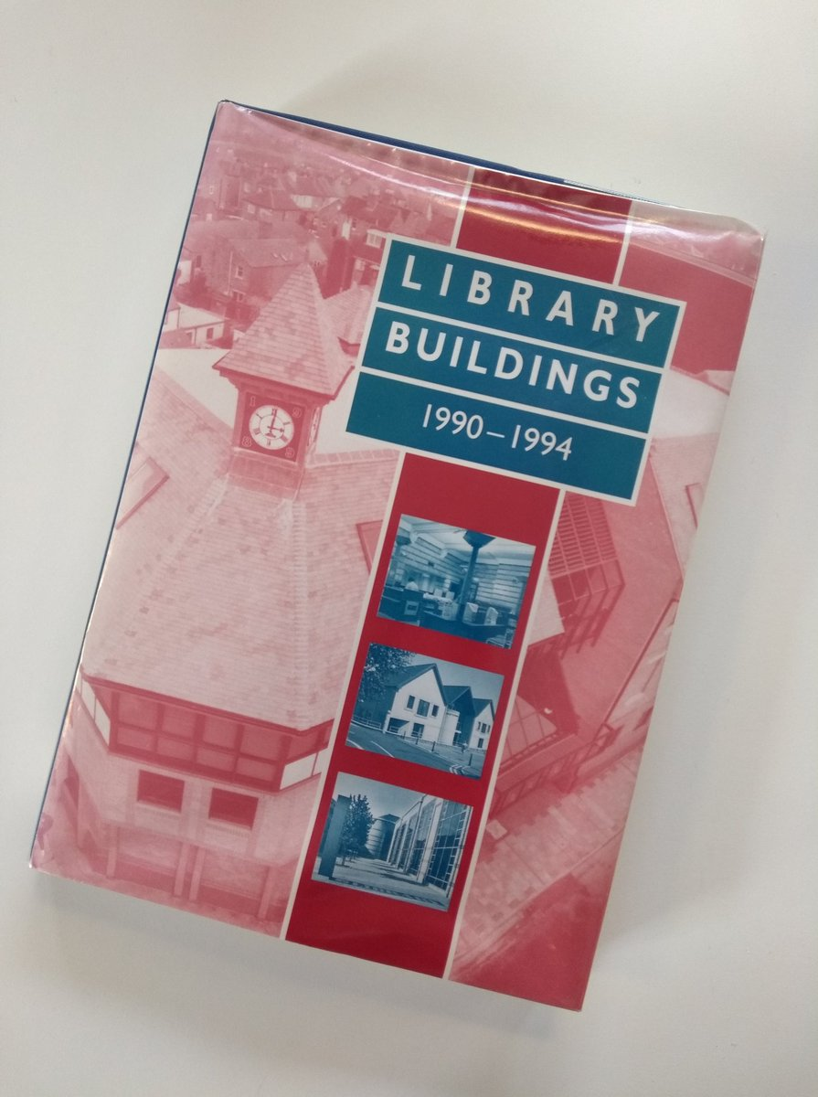 """""""I'd like a book about buildings. Preferably library buildings. Specifically between 1990 to 1994...."""""""