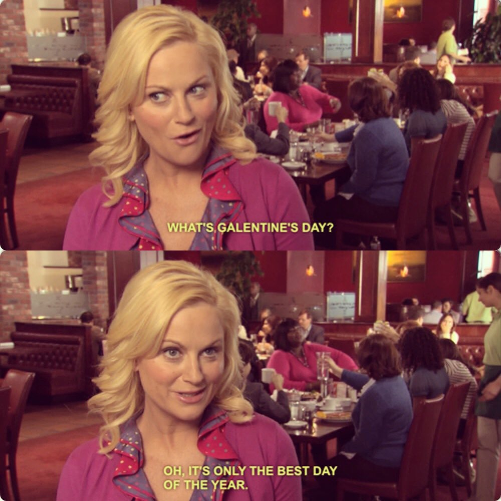 happy galentine's day💘