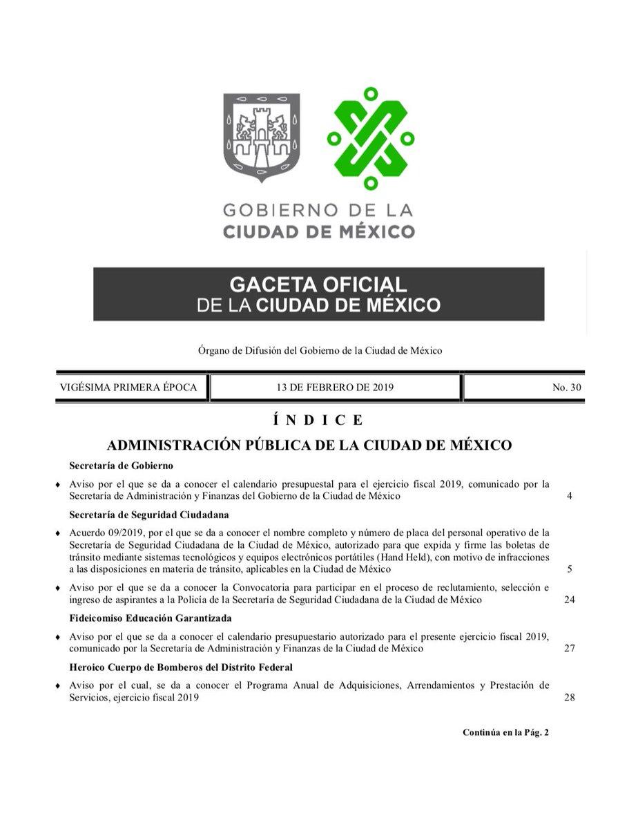 Hoy en la Gaceta Oficial: convocatoria para ingreso de aspirantes a la Policía de la Secretaría de Seguridad Ciudadana; también información sobre Presupuesto Participativo. https://data.consejeria.cdmx.gob.mx/portal_old/uploads/gacetas/5f2f7750a0505411b2746bbfd48a80bf.pdf…