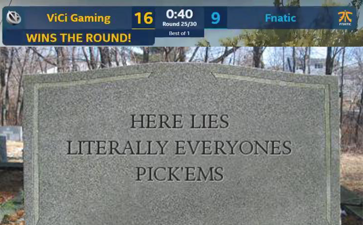 We're really sorry for your loss after that last game... 😢  #IEM