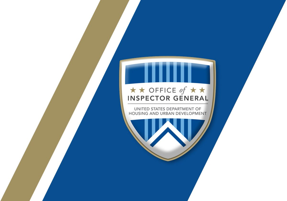 HUD InspectorGeneral on Twitter: