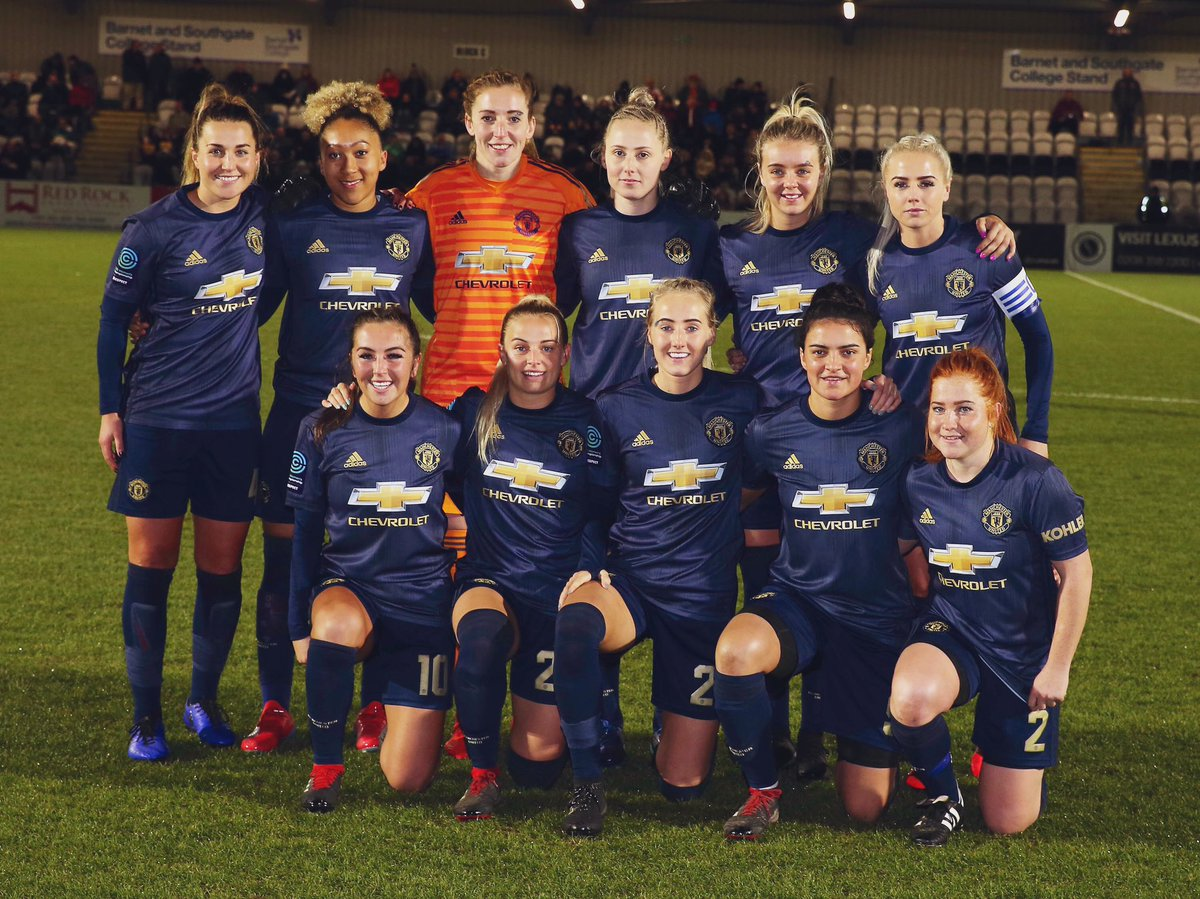Back to league action!   🆚 @LCWFC_official 🏆 @FAWC_ 🏟 Farley Way Stadium ⏰ 7.45pm 🎟 £5 / £2.50   📱 Follow @ManUtdWomen   #MUWomen