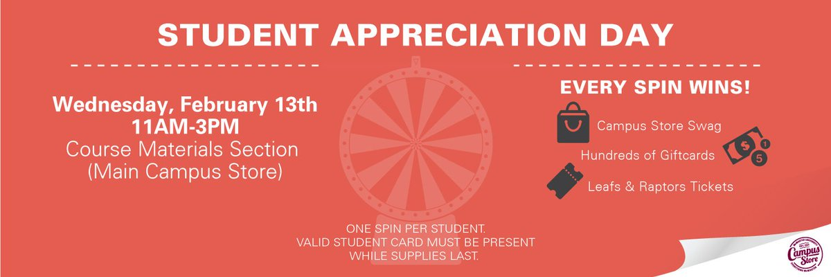 Mac Campus Store On Twitter Today Is Our Student Appreciation Day