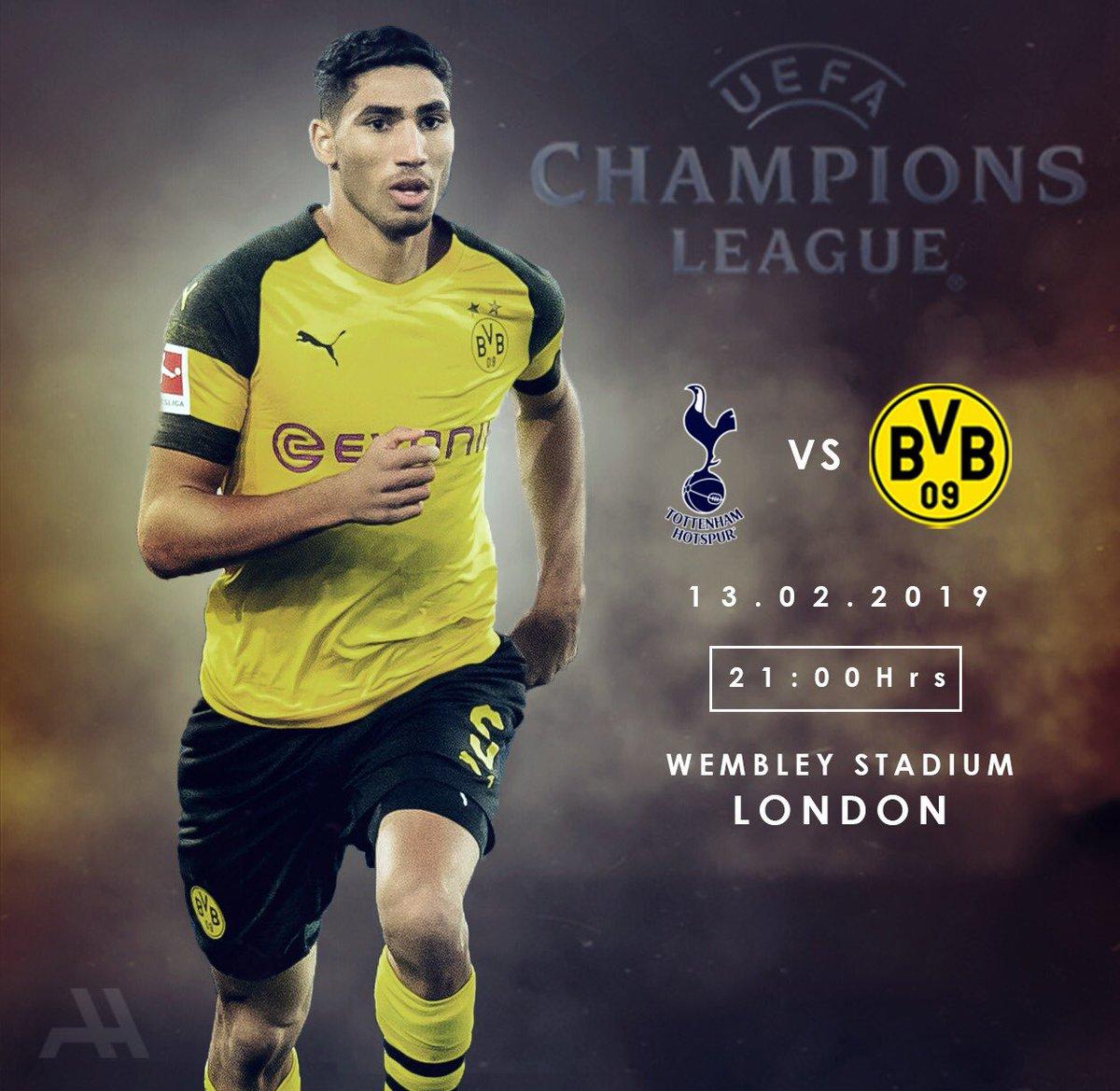 🏆 Champions League  🆚 Tottenham Hotspur 🏟  Wembley Stadium 🗓️ Wednesday, February 13th ⏰ 21:00 ⚽️🐝 #THFBVB