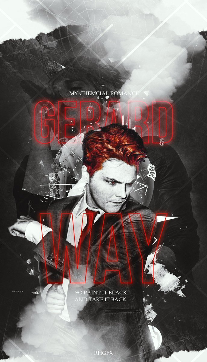Rhgfx On Twitter Gerardway The Man Who Made Our Emo Phase