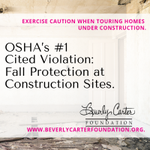 🏡🔨 New construction sites may have more safety risks than you realize.  Exercise caution, friends.