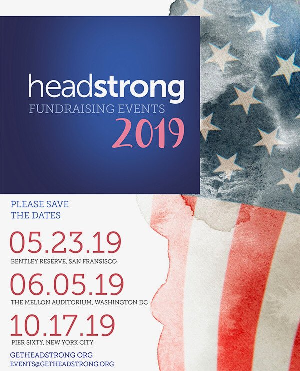 We are excited to announce the dates and locations for our 2019 events. Don't forget to save the dates in your calendar today! - We hope to see you, and we look forward to sharing how our mental health services continue to impact the veteran community! - #GetHeadstrong #Veterans