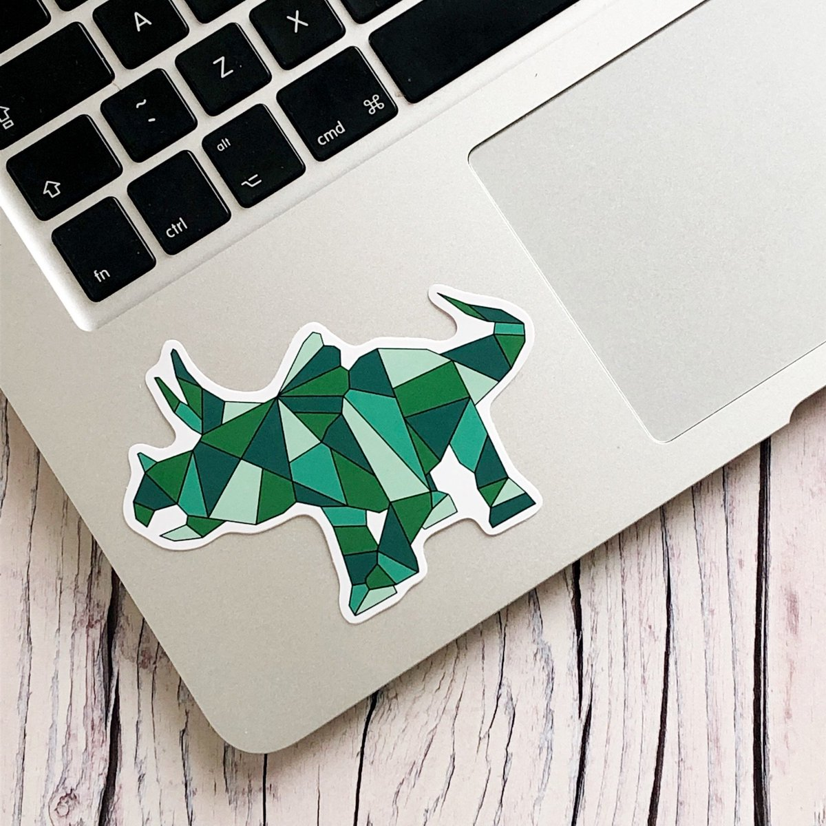 Any #dinosaur fans in? My vinyl dinosaur stickers are a great way to add some giant reptile flair to your laptop or notebook! http://bit.ly/geodinostickers #handmadehour
