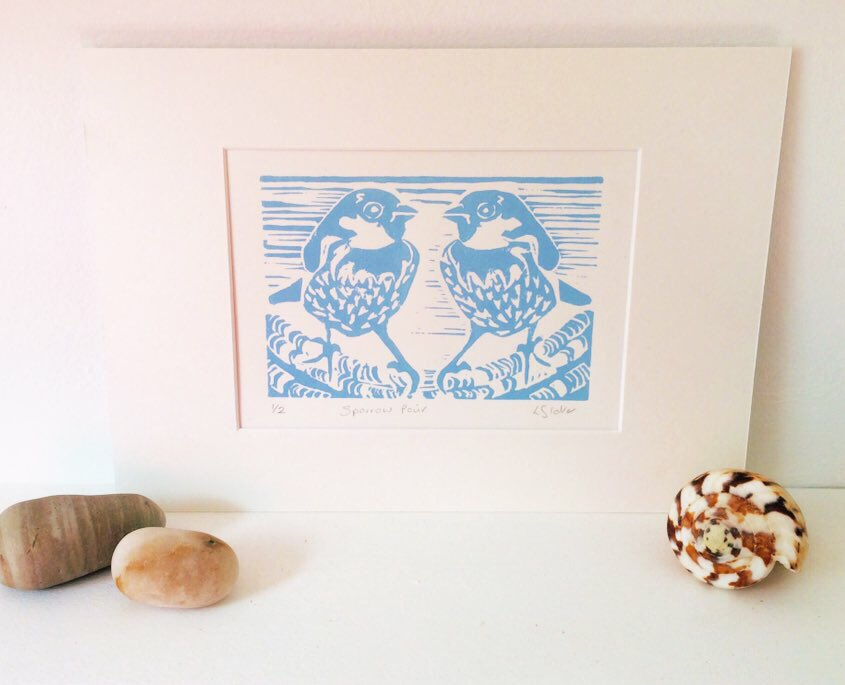 #handmadehour this is available framed @pierroadcoffee & @ThingsBritish if you're looking for a #ValentinesDayGift 💙💙