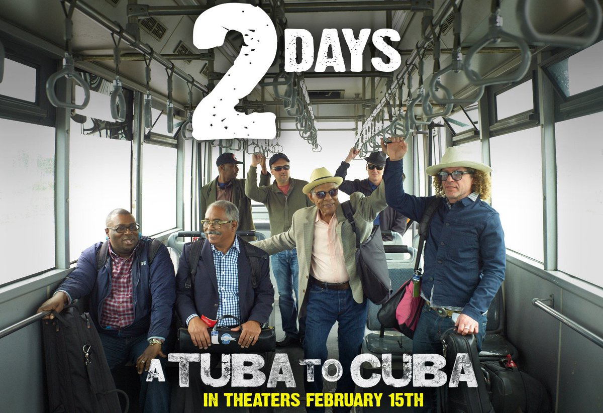 Once you see #ATubaToCuba, you'll feel jazz music in your veins -- and you'll never be the same again. In theaters and OnDemandFebruary 15th 🎺🎶 http://bit.ly/2WLYGDp #neworleans #documentary #indiefilm #jazzmusic #jazz #music #jazzfan #musicdoc