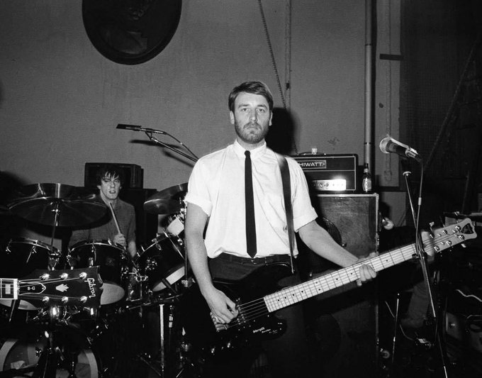 Happy Birthday Peter Hook  Joy Division - She\s Lost Control