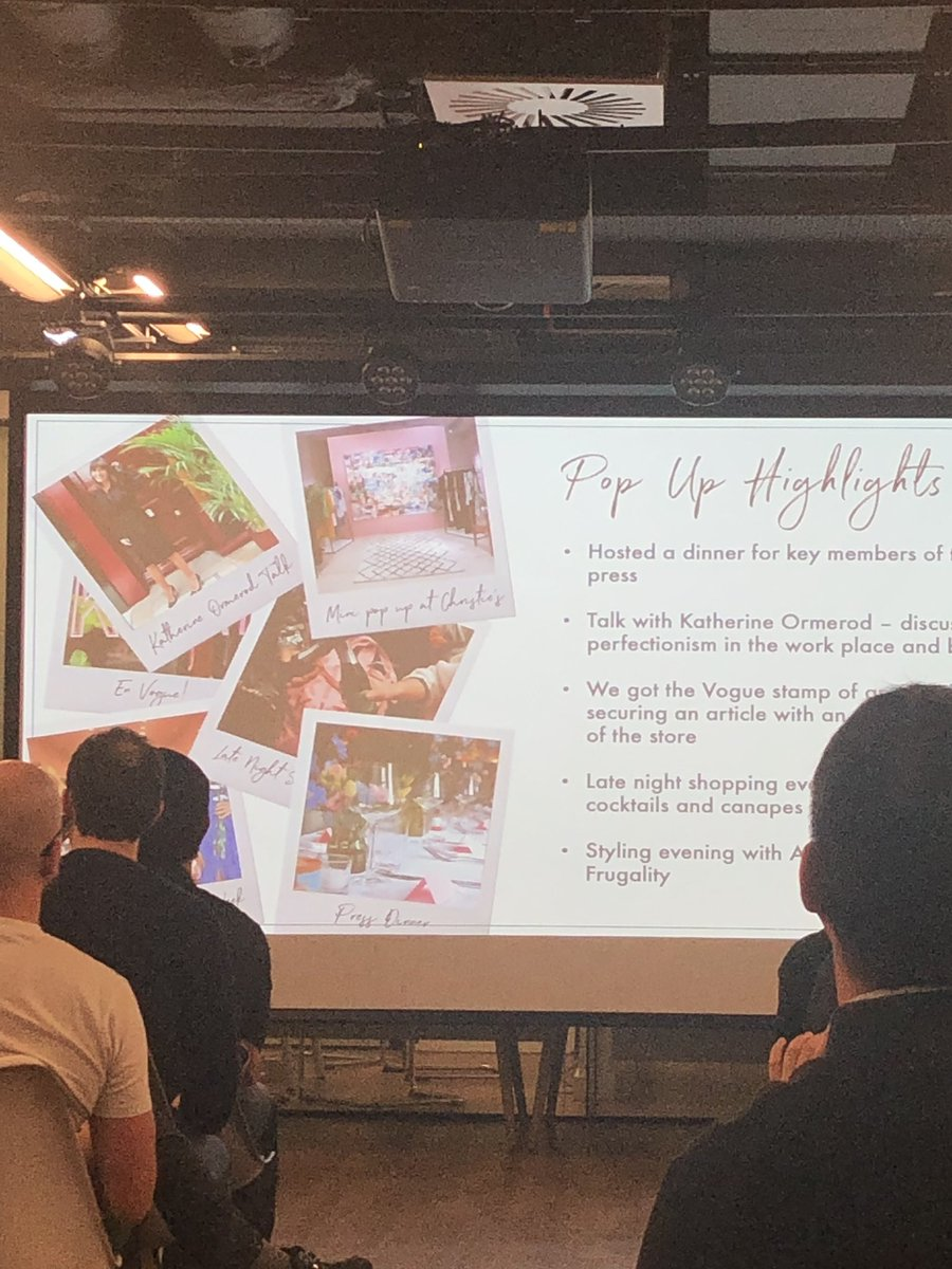 A few tips from #Kitri on the Pop-up strategy to increase Brand Awareness and Connect with consumers - Create the buzz (Events, IG areas), don't take on too much in a short time, use experience to choose the permanent location! #retailtech @TLA_RetailTech