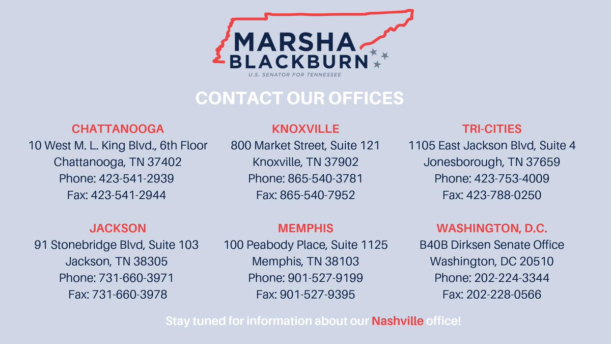 Need help with a federal agency? Our offices are here to help! Reach out to an office near you.