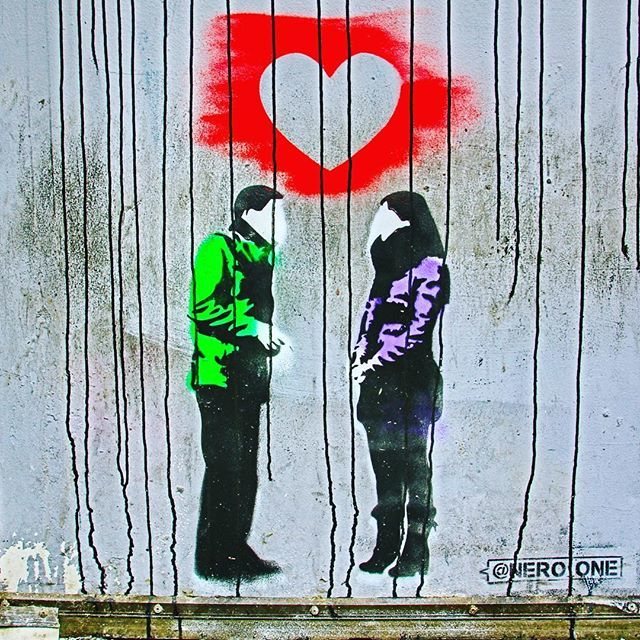 Love is in the air - - street art by @nero_one ❤️❤️❤️ #love #streetart #art #valentines #valentines_day #neroone #heart #couples #igers_philly #howphillyseesphilly #igers_philly_street #phillyprimeshots #philadelphia #philly #phillygram #phillymasters #w… http://bit.ly/2tkhigk