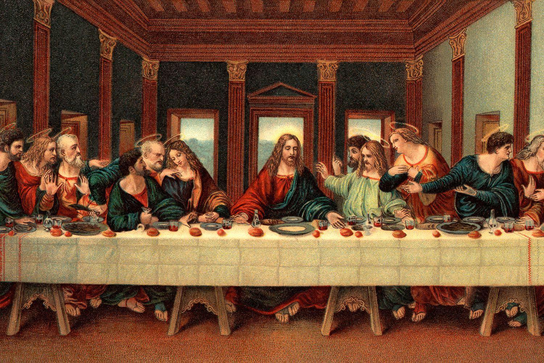 Картинки тайная вечеря вечере высокого разрешения, картинки
