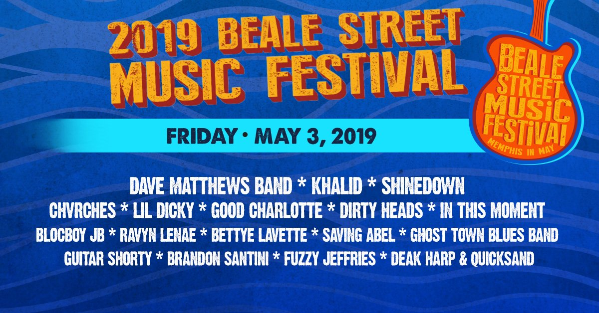 Beale Street Music Festival lineup