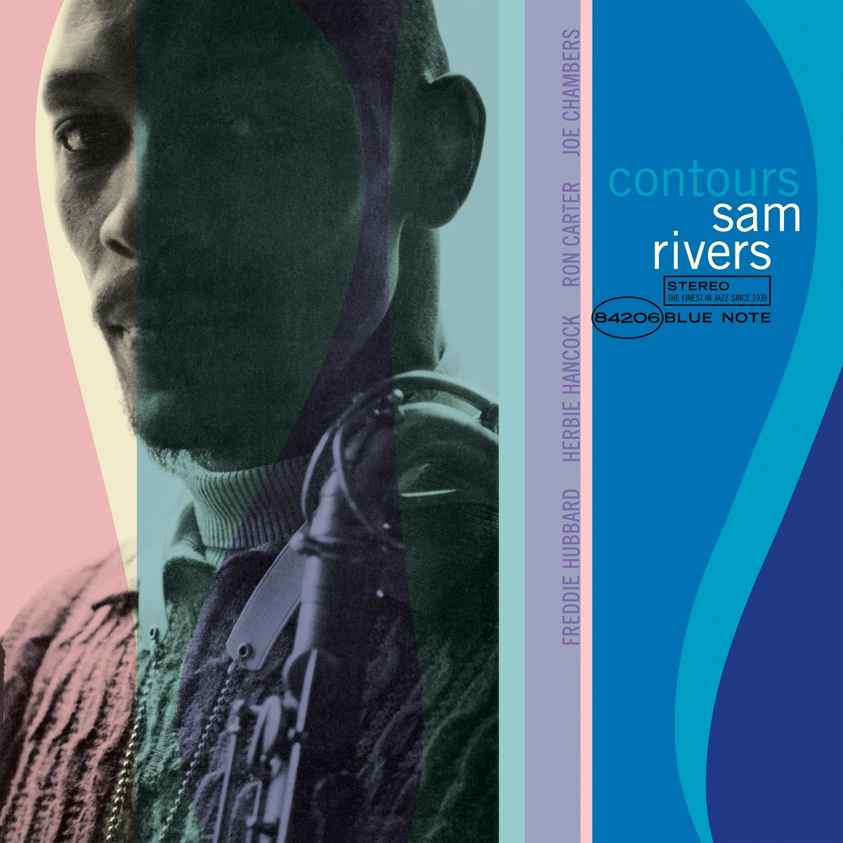 #SamRivers gets the Tone Poet treatment with our new all-analog 180g vinyl reissue of his tremendous 1965 album 'Contours' out 3/15: https://t.co/kwSJRRfy40  Sam Rivers, tenor & soprano sax, flute Freddie Hubbard, trumpet Herbie Hancock, piano Ron Carter, bass Joe Chambers, drums