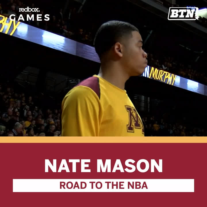 .@NateMason_2 is one step closer to his dream of playing in the NBA. The former @GopherMBB player recently signed and played in his first game with the @TexasLegends.   We are rooting for you, Nate! 👏  BTN x @redbox