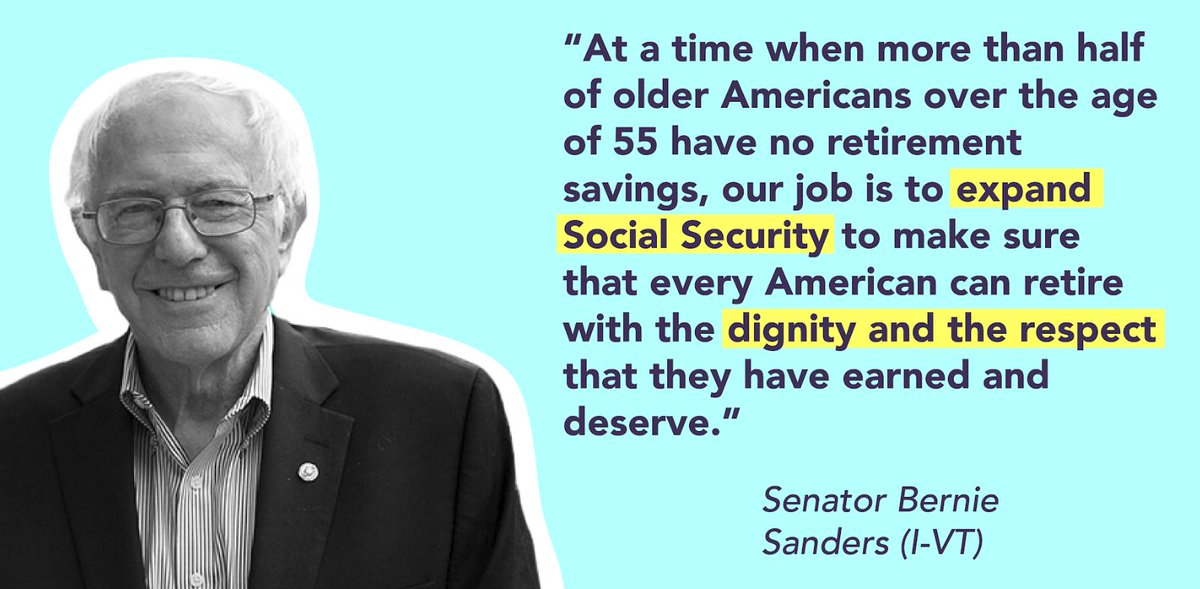 Social Security payroll taxes only apply to wages under $132,900 in 2019, effectively giving the rich a lower tax rate. @SenSanders &quot;Social Security Expansion Act&quot; would #ScrapTheCap and #ExpandSocialSecurity<br>http://pic.twitter.com/7HgrcRWLj3