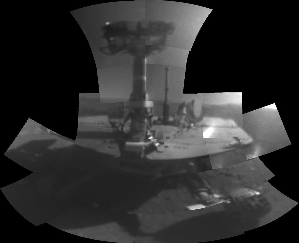 To the robot who turned 90 days into 15 years of exploration:  You were, and are, the Opportunity of a lifetime.  Rest well, rover. Your mission is complete.  (2004-2019) http://mars.nasa.gov  #ThanksOppy