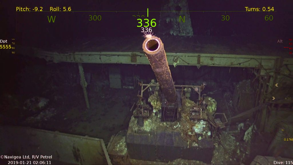 Famed WW2 aircraft carrier torpedoed in 1942 found miles deep in Pacific Ocean http://gizmo.do/5oIf8Ow