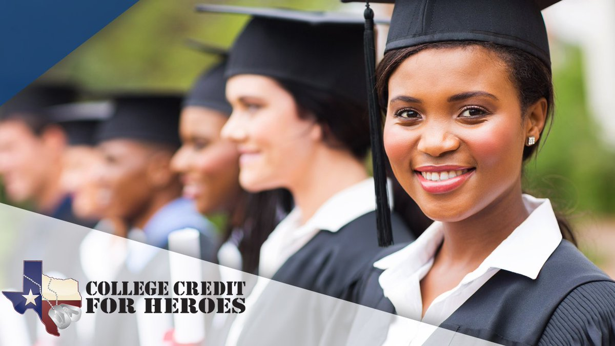 College Credit for Heroes: Veterans, transfer your military service into college credits & expedite your transition into the Texas workforce: http://www.collegecreditforheroes.org  #TOWH