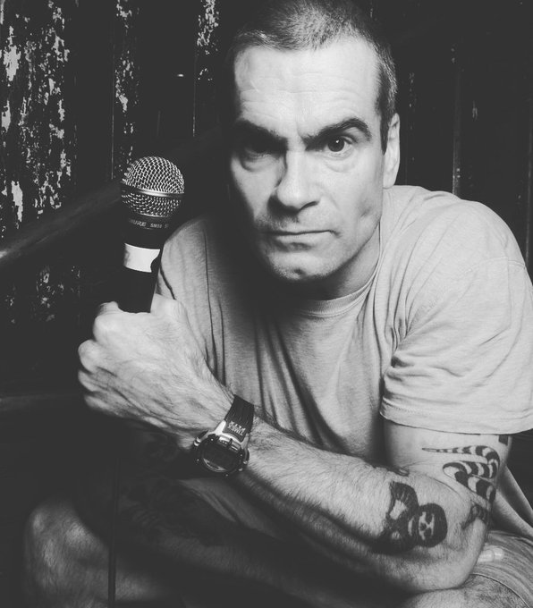 Happy Birthday to former Black Flag Singer Henry Rollins!
