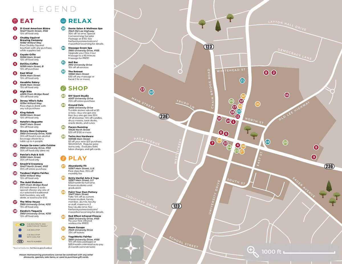 Beautiful George Mason Campus Map Images - Printable Map - New ...