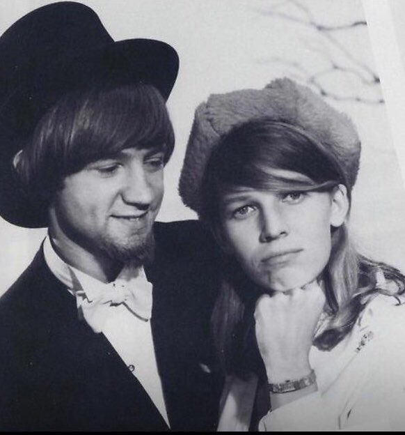 Happy birthday to Peter Tork!!  I love you to the moon and back!  . Photo by Henry Diltz.