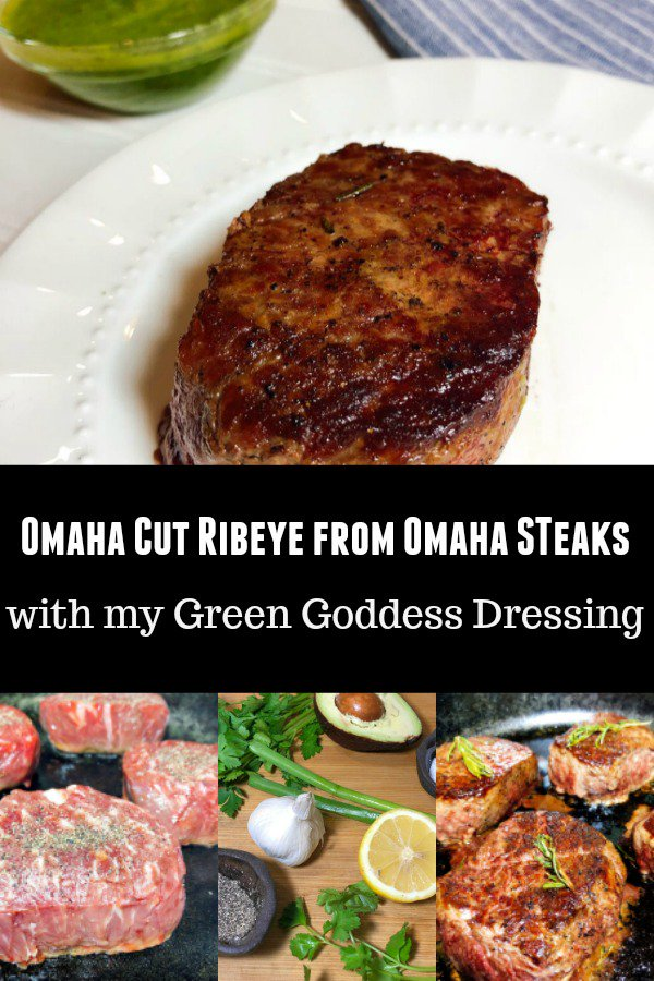 #ad @OmahaSteaks has added a new item- the #OmahaCutRibeye. These new #omahasteaks are Thick & Tall, Perfectly Portioned with the Perfect Trim & Best Ribeye Flavor. Pairs great with my Green Goddess Dressing. http://bit.ly/OmahaCut #OmahaSteaksAmbassador #AmericasOriginalButcher