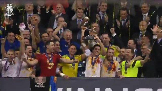 📺 Fuimos #APorLa7 y... ¡Vaya si la trajimos! Hoy se cumplen 3 años de nuestra conquista de Europa en la #FutsalEURO. ¡Así lo recordamos!